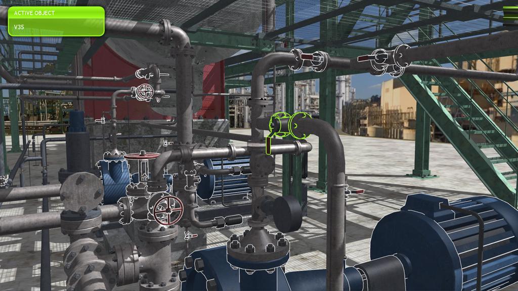 Noreal It 3d Agency Metis Interactive 3d Training Platform